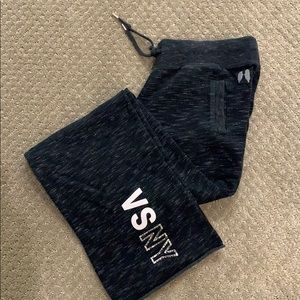 Victoria's Secret bootcut raw edge hem sweatpants